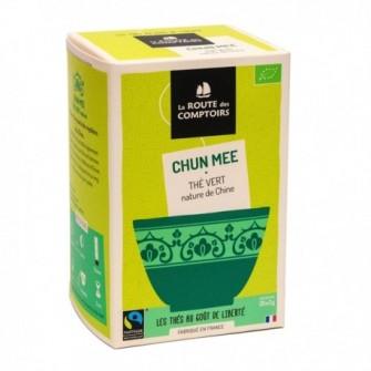Thé vert de Chine Chun Mee