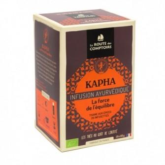 Infusion ayurvedique Kapha, mélange de graines et d'épices, digestif et relaxant aux saveurs corsées et chaudes
