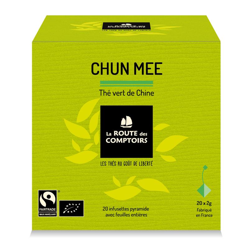 Thé vert Chun Mee La Route de Comptoirs