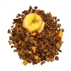 Infusion banane abricot speculoos. Le Torréfacteur.