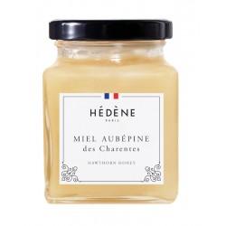 Miel français aubépine des Charente Hedene.
