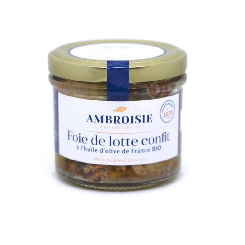 Foie de lotte confit Ambroisie.