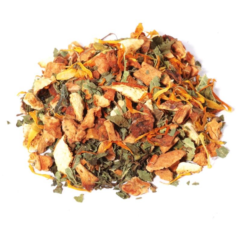 Tisane Orange-Mandarine. Le Thé du Torréfacteur.