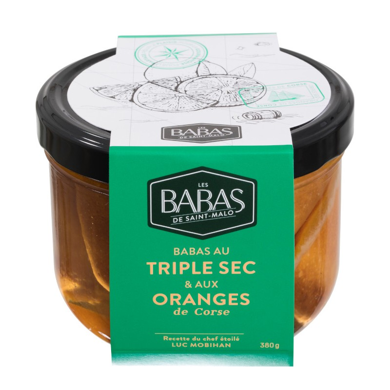 Les babas de Saint Malo triple sec orange.