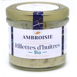 Rillettes d'huîtres bio Ambroisie.