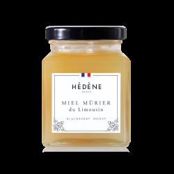 Miel français de mûrier du Limousin Hedene.