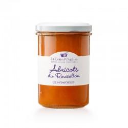 Confiture d'abricots du Roussillon La Cour d'Orgère chez Le Torréfacteur.