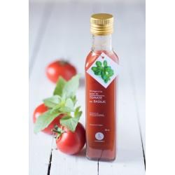Vinaigre à la pulpe de tomate au basilic Libeluile. Le Torréfacteur.