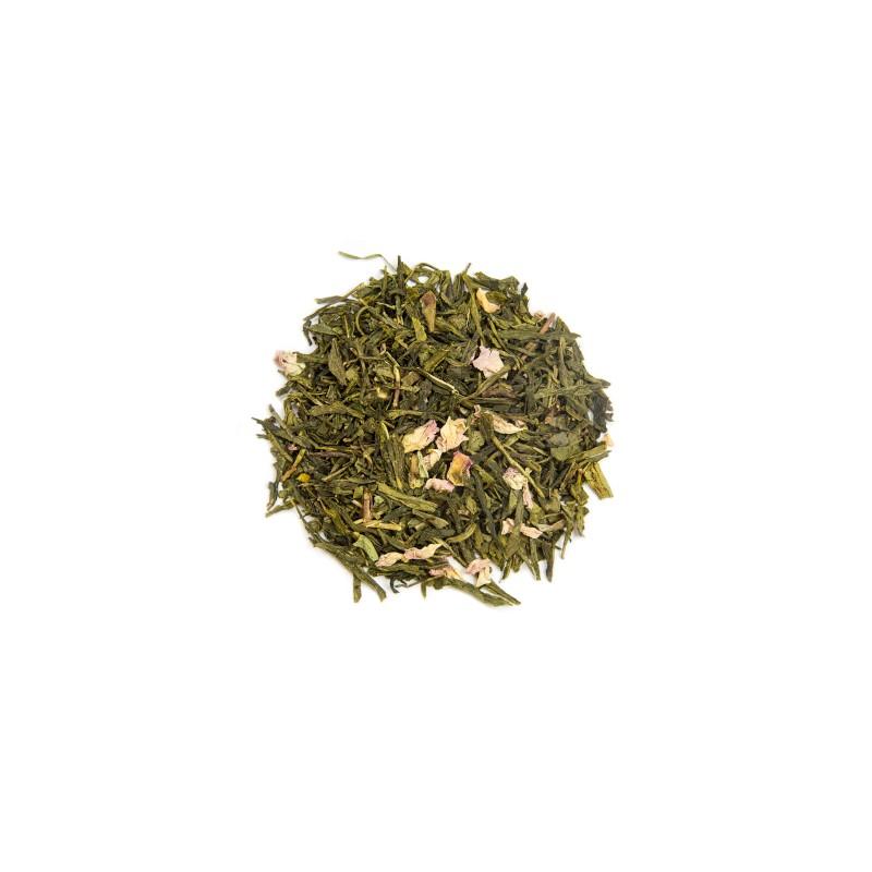 Thé vert Le Jardin Japonais. Le Thé du Torréfacteur.